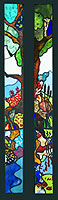 Chinnor stained glass panel